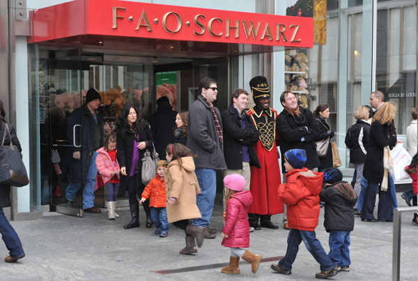 FAO Schwarz, New York