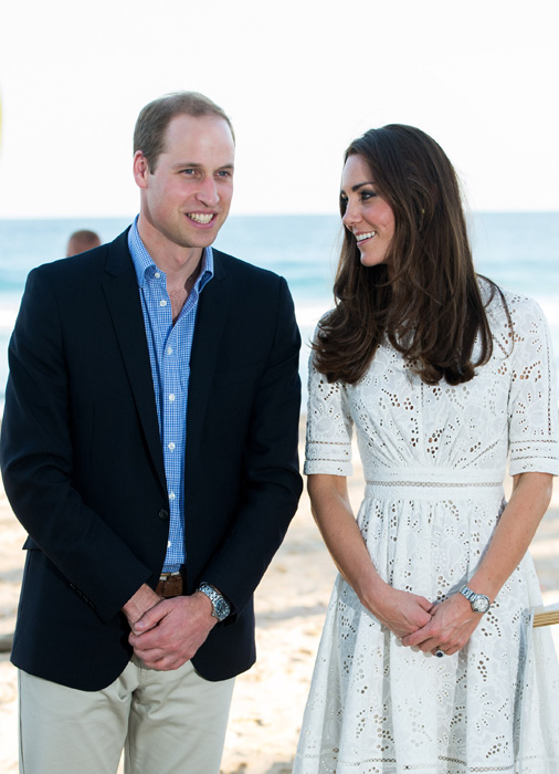 william and kate mustique