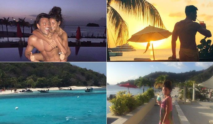 Mark Wright and Michelle Keegan's romantic Caribbean getaway as their wedding day fast approaches