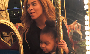 Beyoncé Knowles' family photo album of holiday in Italy
