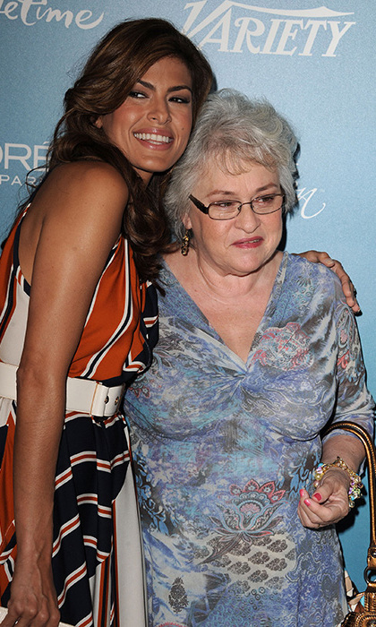Photo of Eva Mendes & her Mother  Eva Perez Suarez