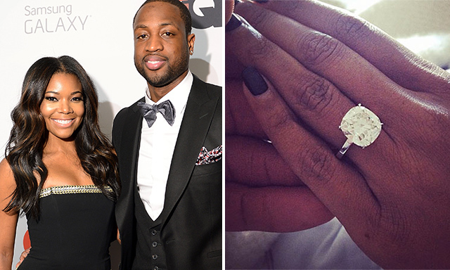 Best of 2014 Celebrity engagement rings HELLO US