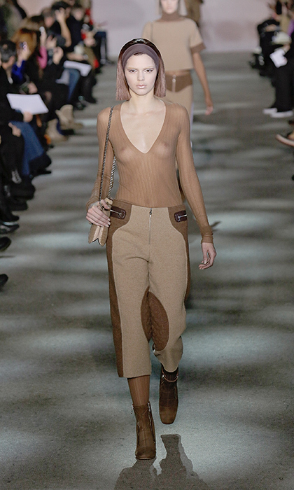 kendall jenner rocks the runway during fashion weeks in