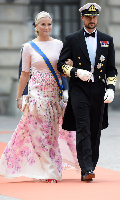 Crown Prince Haakon and Princess Mette-Marit of Norway. 