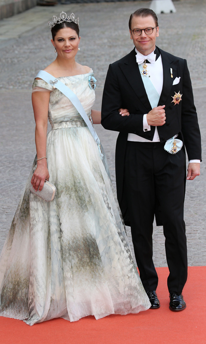 Princess Victoria of Sweden and her husband Prince Daniel were amongst the VIP guests. 