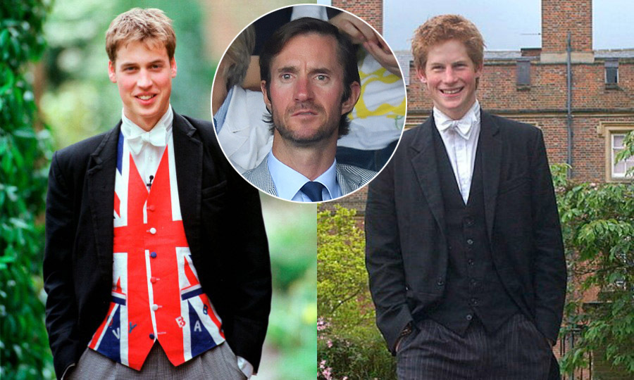 <strong>He went to Prince William and Prince Harry's school