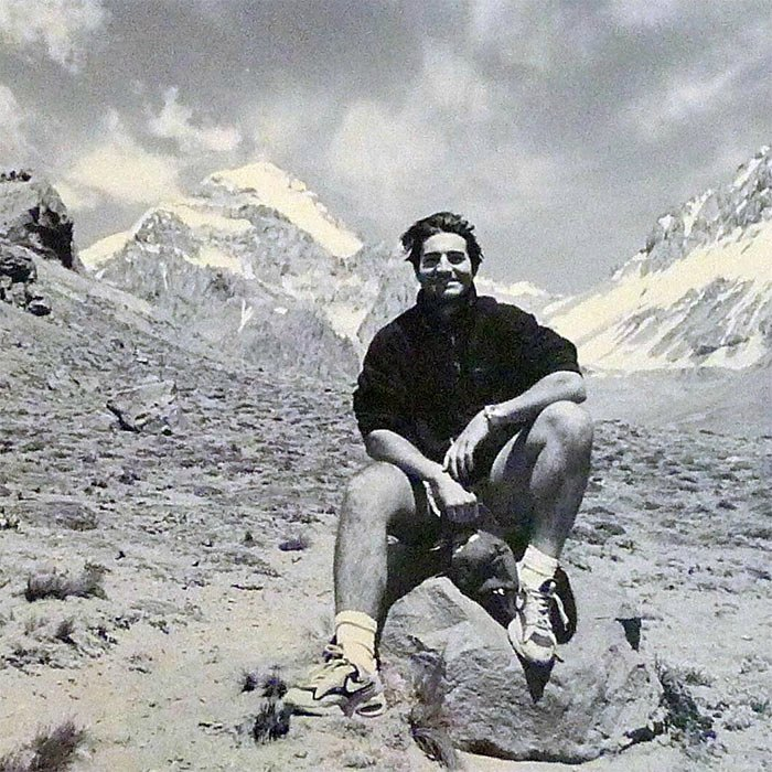 <strong>His other brother died climbing Mount Everest