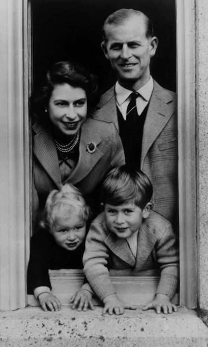 A family photograph in Scotland.