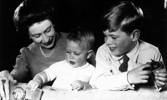 He was christened Edward Antony Richard Louis in the Private Chapel at Windsor Castle.