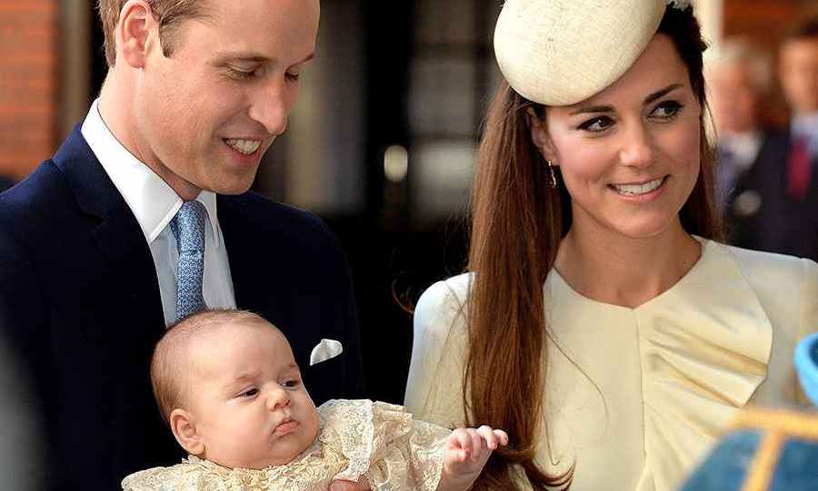 In October, the public saw George once again at his christening, which was held at the Chapel Royal at St. James's Palace in London.