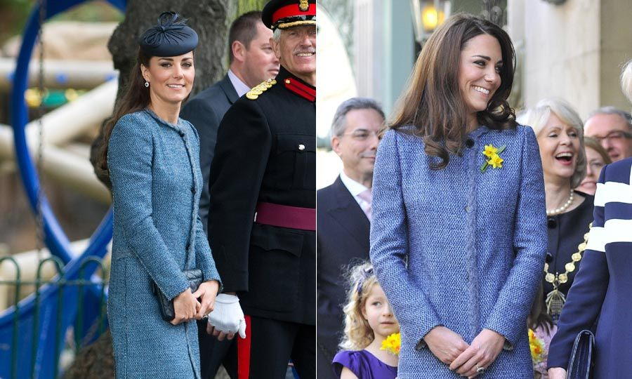 Kate opted for this beautiful Missoni coat for a friend's wedding and had worn it a few times before to attend official engagements. 