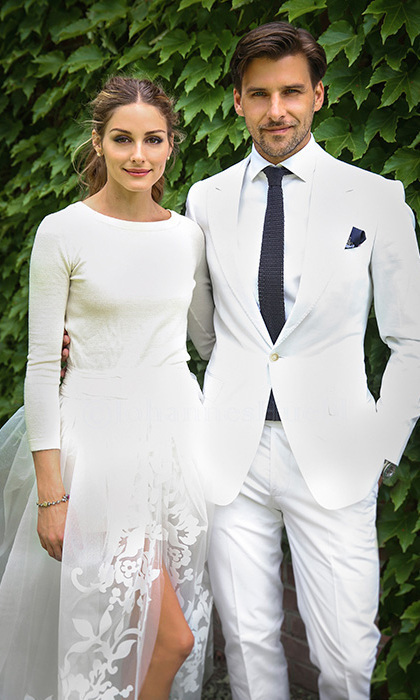 Olivia Palermo and Johannes Huebl <br>