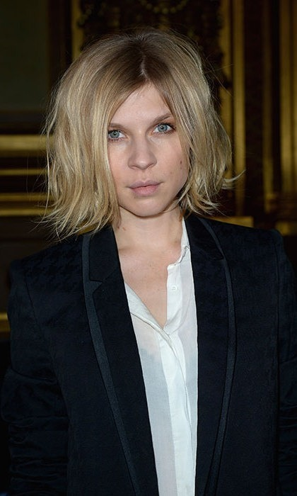 Channel <b>Clemence Poesy</b>'s effortlessly cool French style with a slightly dishevelled bob.
