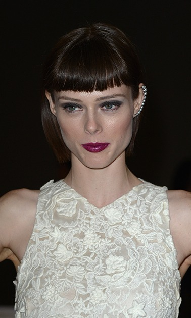 "Flair for the dramatic? Try <a href=""http://us.hellomagazine.com/tags/1/coco-rocha"" target=""_blank""><strong>Coco Rocha</strong></a>'s severe cut, an ode to Anna Wintour no doubt, with a blunt edge below the ear and super-short bangs.