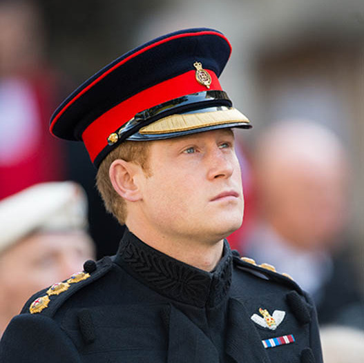 Prince Harry Gets Emotional While Paying Tribute To Fallen