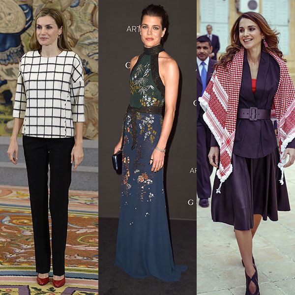 The week's best royal style: Queens Letizia, Elizabeth and ...