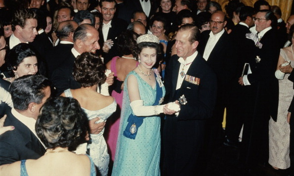 Queen Elizabeth and Prince Philip danced at a state ball at the palace in Valletta during a Commonwealth Visit to Malta in 1967.