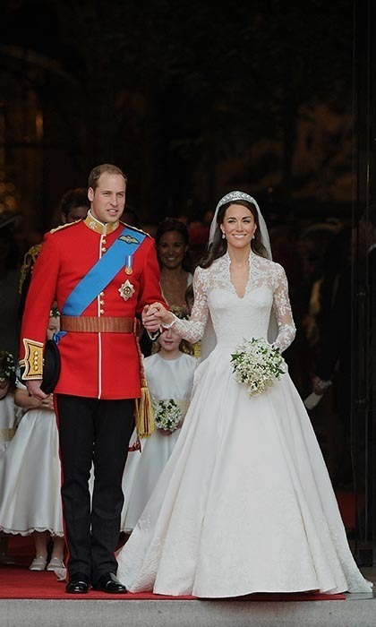 The Duke and Duchess of Cambridge stepped out for the first time as husband and wife.