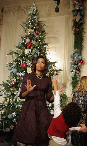Michelle Obama Reveals White House Christmas Decorations