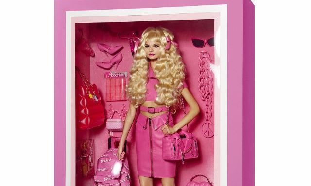 That's a lot of pink for Moschino!