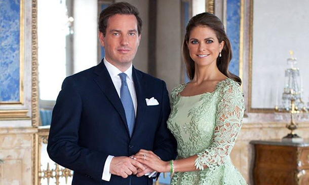 Princess Madeleine and Chris O'Neill married in June 2013