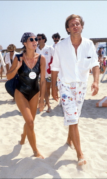 Caroline and Stefano vacationed in St. Tropez circa 1988. The businessman, who is father of Princess Caroline's three oldest children, Andrea, Charlotte and Pierre Casiraghi, died in a boating accident in 1990.