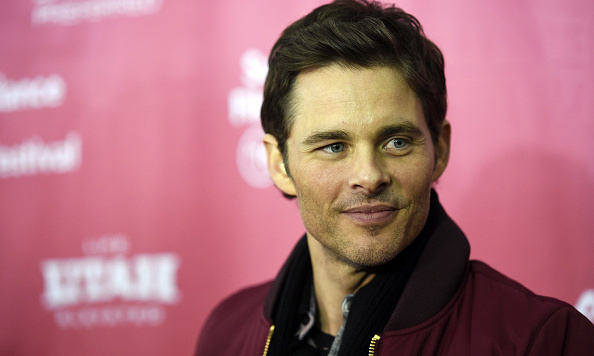 James Marsden was all smiles at his 'D Train' screening. Photo: Getty Images