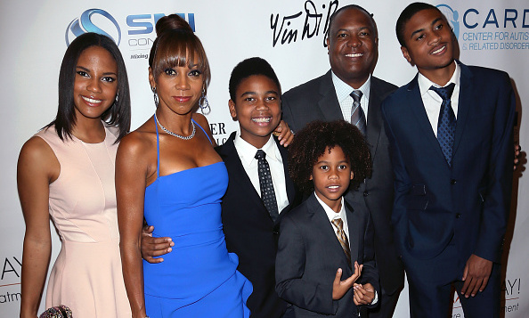 <b>Holly Robinson Peete and Rodney Peete</b>