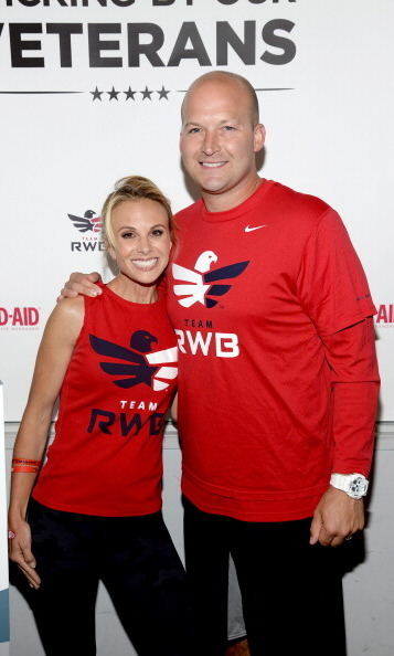 <b> Elisabeth Hasselbeck and Tim Hasselbeck</b>