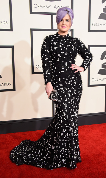 Kelly Osbourne in Christian Siriano