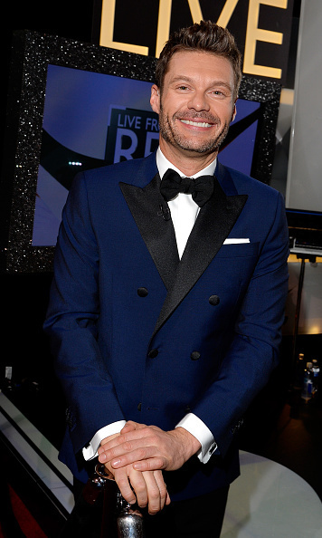 Ryan Seacrest in his suit line Distinction