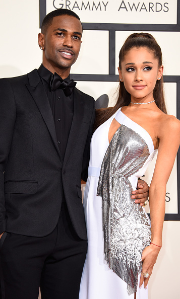 Ariana Grande in Versace with Big Sean