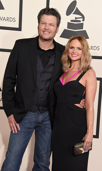 Blake Shelton with Miranda Lambert in Gabriela Cadena