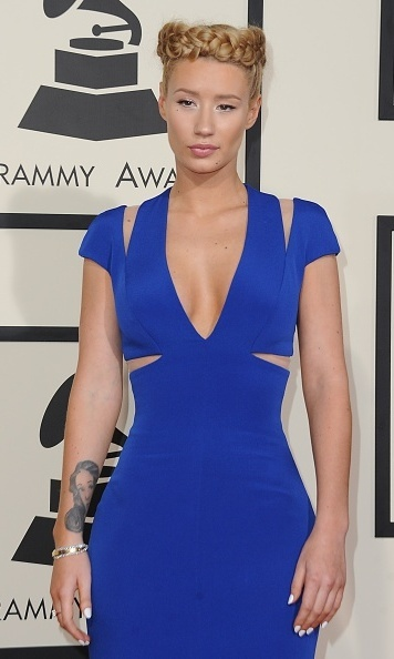 Iggy Azalea in Armani Prive