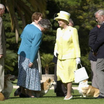 3. The Queen herself walks them daily