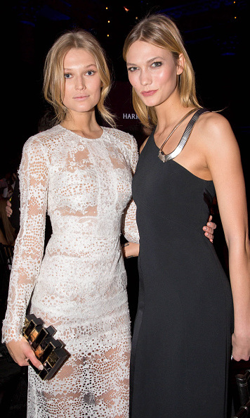 Toni Garrn and Karlie Kloss