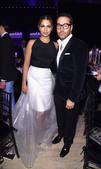 Camila Alves and Jeremy Piven
