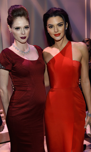 Coco Rocha and Kendall Jenner