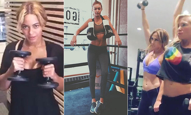 Beyoncé to Jennifer Lopez: their best workout and diet tips