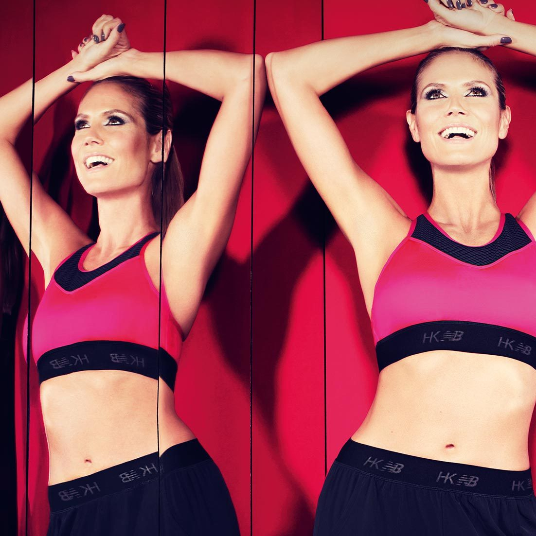 Supermodel Heidi Klum has become the face of New Balance's activewear line. Looks like the brand primarily known for shoes just got a runway makeover!