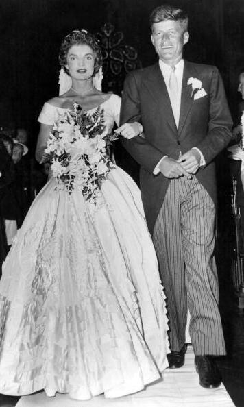 Jackie's wedding to John F. Kennedy in 1953 would produce one of the most iconic wedding dresses of all time.