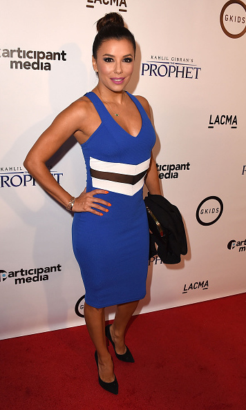 July 29: Eva Longoria dazzled at the screening of 'Prophet' in Los Angeles. 
