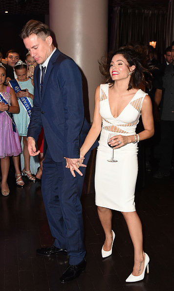 August 1: Channing Tatum and his wife Jenna Dewan-Tatum show off their dance moves while attending the 5th Annual Celebration of Dance Gala presented By The Dizzy Feet Foundation at Club Nokia.