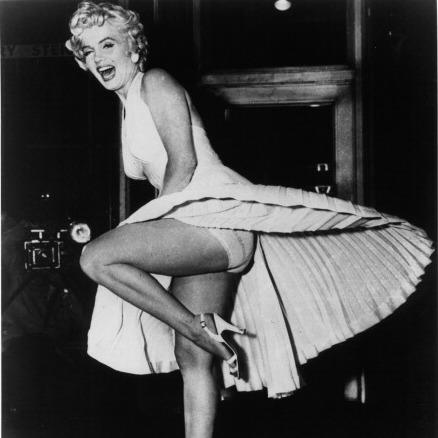 But it was the white halter that the megastar wore in the 1955 classic 'The Seven Year Itch' that would become one of the most famous dresses of all time.