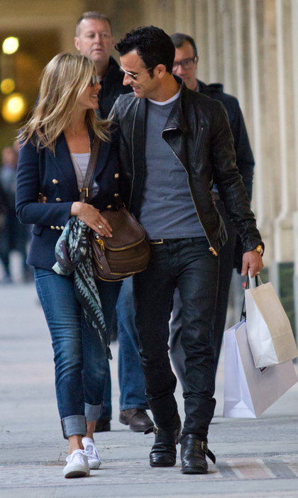 The gorgeous pair looked right at home in romantic Paris during a visit to the Palais-Royal in 2012.