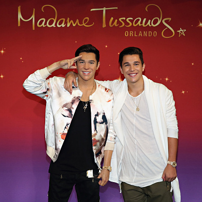 August 11: Austin Mahone was #twinning during the unveiling of his wax figure at Madame Tussauds in New York City. 