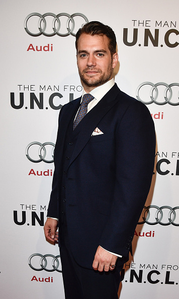 August 11: Henry Cavill followed suit, trading in his Superman costume for the 'The Man from U.N.C.L.E.'. 