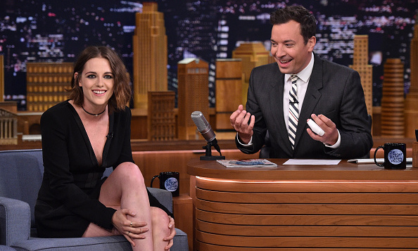 August 11: Kristen Stewart joked about her smiling habits during her appearance on the 'Tonight Show with Jimmy Fallon.' 