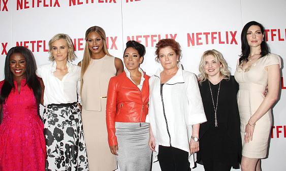 August 11: The ladies of Litchfield attended the FYC screening of 'Orange is the New Black' in the Big Apple.