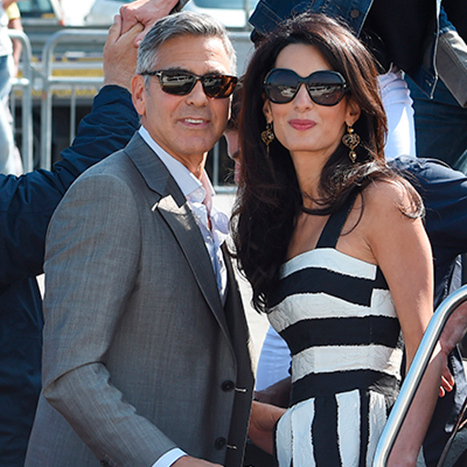 "Speaking to CBS News about making his shock marriage proposal, George said: ""I knew fairly quickly that I wanted to spend the rest of my life with Amal."" <br>